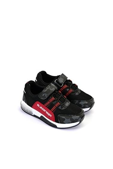Slazenger Efect Erkek Çocuk Sneaker Ayakkabı Siyah